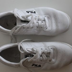 FILA Leather Fitness Sneakers